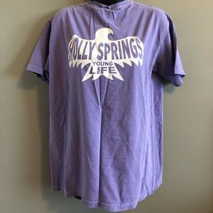 Comfort colors Younglife Tee shirt. Medium